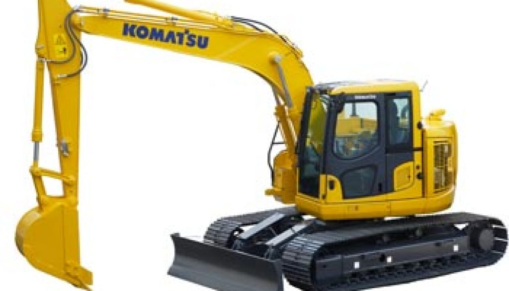 Komatsu America Corp. Launches a New Addition to the Dash-10 Excavator Series. Copyright Komatsu.
